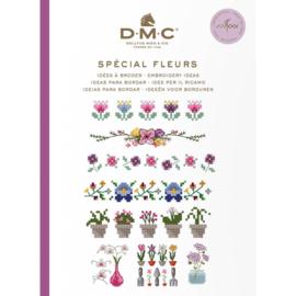 DMC Ideeën om te borduren - bloemen