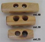 Knoop hout 30 mm. 5 stuks