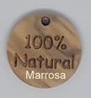"Label rond tekst ""100% Natural"""