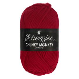 Scheepjes Chunky Monkey  1246 cardinal