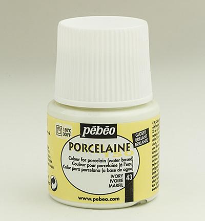 PéBéo Porcelaine (porseleinverf) 024-043 Ivory