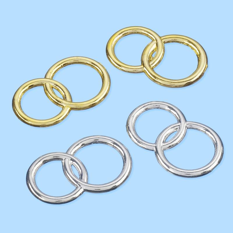 "Symbool ""ringen"" goud 1 stuks"