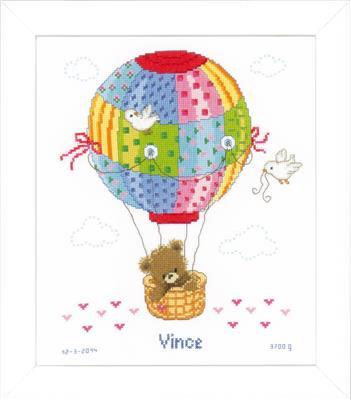 Borduurpakket (geboorte) Ballonvaart