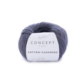 Katia Concept Cotton-Cashmere 61 - Donker grijs