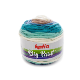 Katia Big Paint 200 - Blauw-Beige