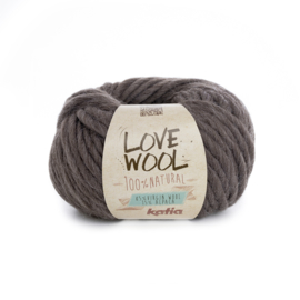 Katia Love Wool 103 - Donker bruin