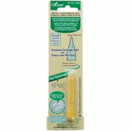 Clover Refill Cartridge Chaco Liner Pen Yellow