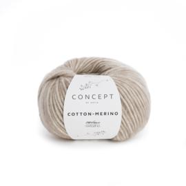 Katia Concept Cotton - Merino 104 - Beige