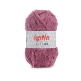 Katia Velour 69 - Medium bleekrood