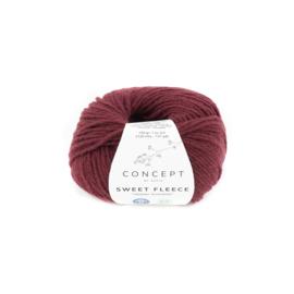 Katia Concept Sweet Fleece 68 - Bordeauxpaars