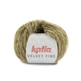 Katia Velvet Fine 219 - Bleekbruin