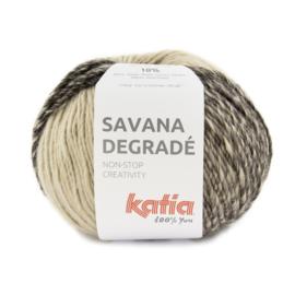Katia Savana Degrade 101 - Bruin-Licht bruin-Donker bruin