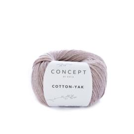 Katia Concept Cotton-Yak 108 - Parelmoer-lichtrood