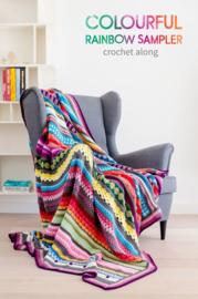 Rainbow Sampler Blanket CAL