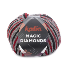 Katia Magic Diamonds 53 - Rood-Grijs-Zwart