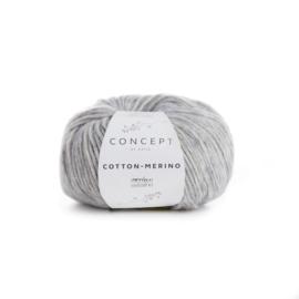 Katia Concept Cotton - Merino 106 - Licht grijs
