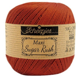 Scheepjes Maxi Sugar Rush 388 Rust