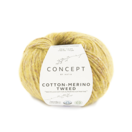 Katia Concept Cotton merino tweed 507 - Oker
