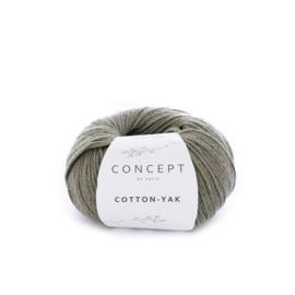 Katia Concept Cotton-Yak 107 - Bleekgroen