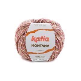 Katia Montana 71 - Bleekrood-Steengrijs