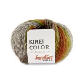 Katia Kirei color 301 - Wijnrood-Roodoranje-Kaki