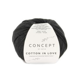 Katia Concept Cotton in Love 62 - Zwart