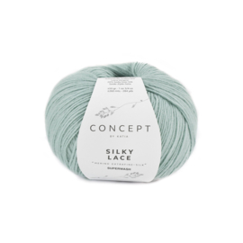Katia Concept Silky Lace 177 - Witgroen