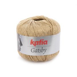 Katia Gatsby 45 - Zeer licht bruin-Goud