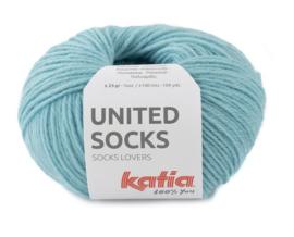 Katia United Socks 24 - Waterblauw