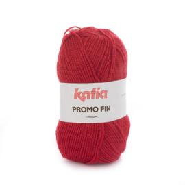 Katia Promo Fin 579 - Robijnrood