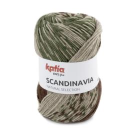 Katia Scandinavia 203 - Groen-Bruin