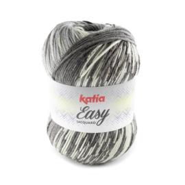Katia Easy Jacquard 308 - Grijs-Antracietgrijs