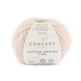 Katia Concept Cotton merino Fine 88 - Lichtroze