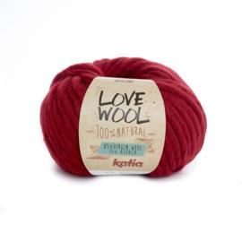 Katia Love Wool 115 - Rood