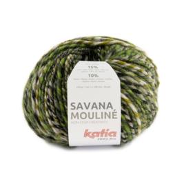 Katia Savana Mouline 204 - Groen-Geelgroen-Grijs