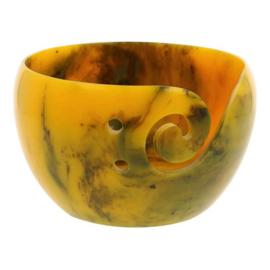 Scheepjes Yarn bowl parelmoer effect geel