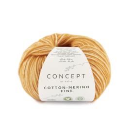 Katia Concept Cotton merino Fine 82 - Licht oranje
