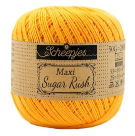Scheepjes Maxi Sugar Rush 208 Yellow Gold