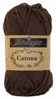 Scheepjes Catona  162 Black Coffee