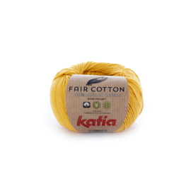 Katia Fair Cotton 20 - Geel