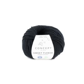 Katia Concept Sweet Fleece 69 - Zwart