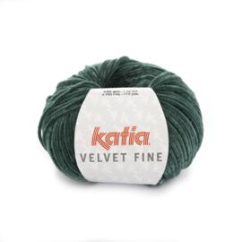 Katia Velvet Fine 214 - Flessegroen