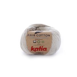 Katia Fair Cotton 11 - Parelmoer-lichtgrijs