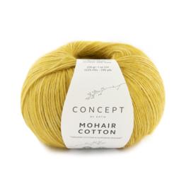 Katia Concept Mohair cotton 79 - Mosterdgeel