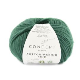 Katia Concept Cotton merino Fine 93 - Opaalgroen