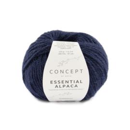 Katia Concept Essential alpaca 88 - Donker blauw