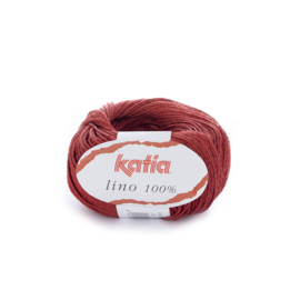 Katia Lino 100% 20 - Rood