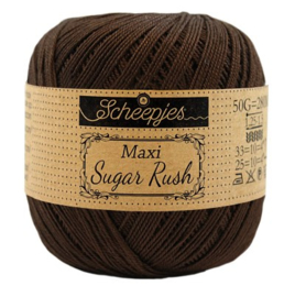 Scheepjes Maxi Sugar Rush 162 Black Coffee