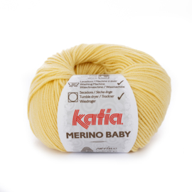 Katia Merino Baby 37 - Geel