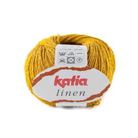 Katia Linen 26 - Mosterdgeel